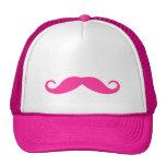 Pink Moustache Hat
