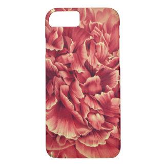Pink moutan peony macro floral art phone case