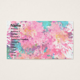 PINK MUMS Business Cards
