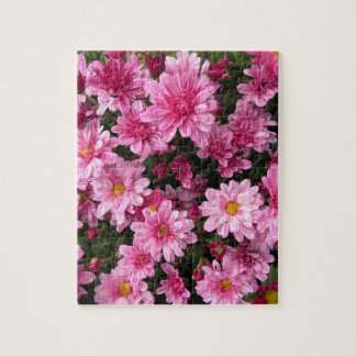 Pink mums puzzle