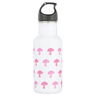 Pink Mushroom Stainless Steel  Water Bottle