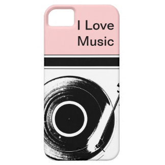 Pink Music iPhone Cases
