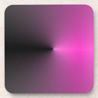 Pink-n-Black Point Coaster