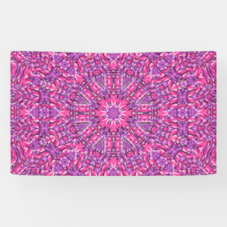 Pink n Purple   Banners, 4 sizes Banner