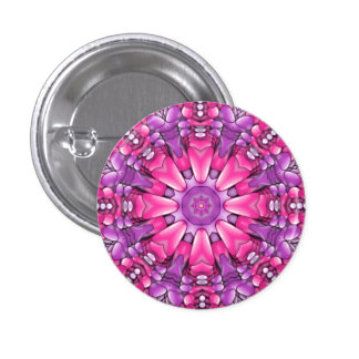 Pink n Purple Buttons And Pins
