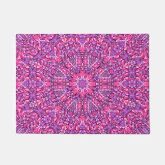 Pink n Purple Door Mat