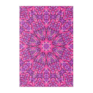 Pink n Purple Kaleidoscope Acrylic Wall Art
