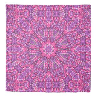 Pink n Purple Kaleidoscope    Duvet Covers