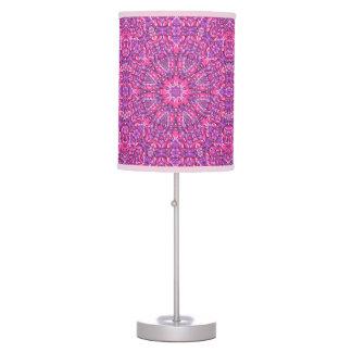 Pink n Purple Kaleidoscope    Table Lamp
