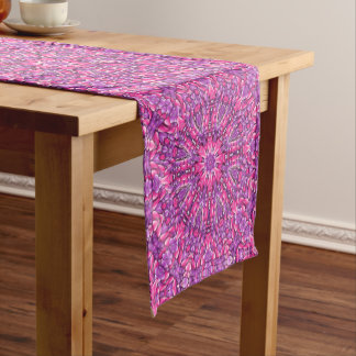 Pink n Purple Kaleidoscope  Table Runner
