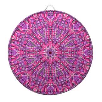 Pink n Purple Metal Cage Dartboards