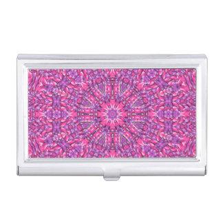 Pink n Purple Vintage Business Card Case