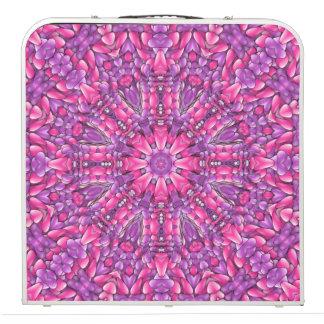 """Pink n Purple  Vintage Kaleidoscope 48"""" Pong Table"""