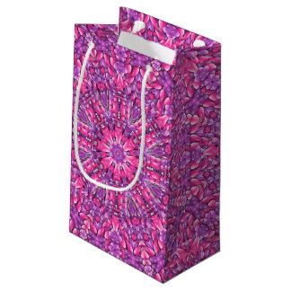 Pink n Purple Vintage Kaleidoscope Small Gift Bag