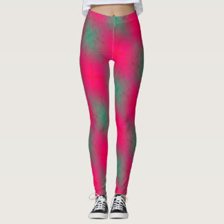 Pink N' Teal 2 Leggings