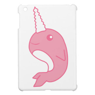 Pink Narwhal Cover For The iPad Mini