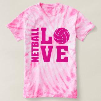 Pink Netball Love, Netball T-shirt