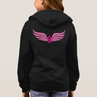 Pink New Hope Breast Cancer Awareness Hoodie