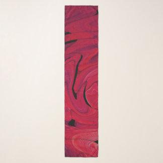 Pink Nightmare - Chiffon Scarf