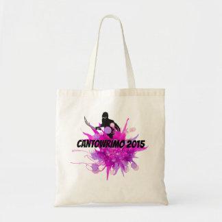 Pink Ninja 2015 Cantowrimo Tote