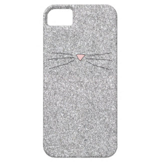 Pink Nose Glitter Print Phonecase iPhone 5 Cover