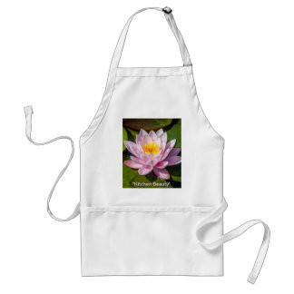 Pink Nuphar Lutea Water Lily Flower in full Bloom Aprons