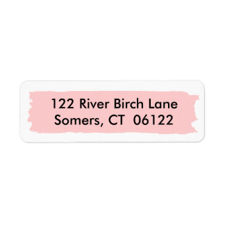 Pink Ombre Cake, Matching Address Return Address Label