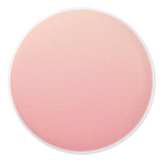 Pink Ombre Ceramic Knob