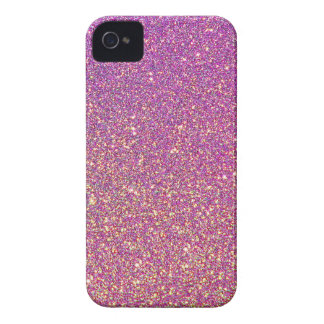 Pink Ombre Glitter Background Case-Mate iPhone 4 Case