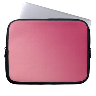 Pink Ombre Laptop Sleeve 10 inch