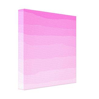 Pink Ombre Original Art Canvas Print