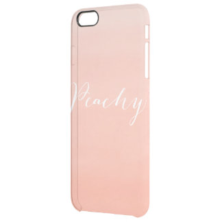 """Pink ombre """"peachy"""" phone case"""