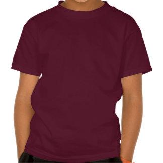 Pink On Dark Purple Shirt
