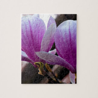 PINK ONE MAGNOLIA JIGSAW PUZZLE