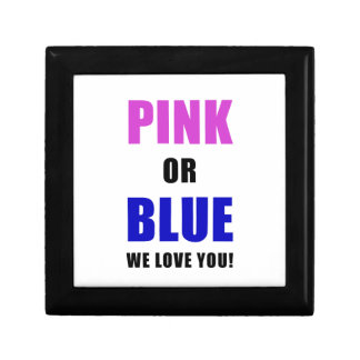 Pink or Blue We Love You Gift Box