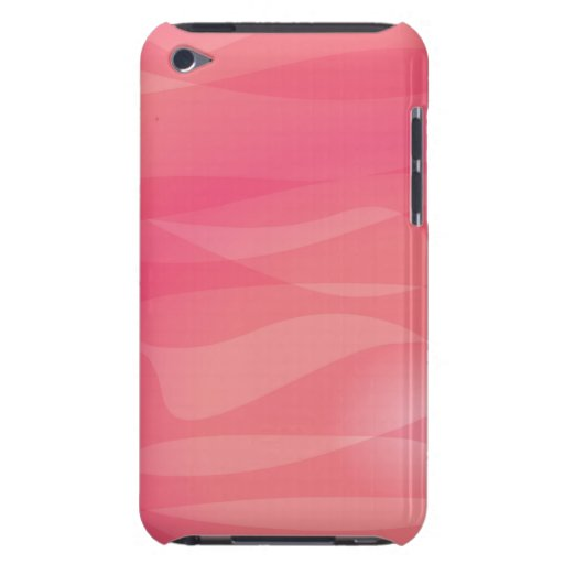 Pink Orange Abstract Pattern iPod Case-Mate Cases