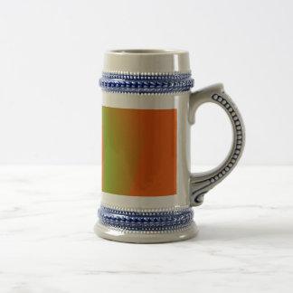 Pink Orange Green 18 Oz Beer Stein