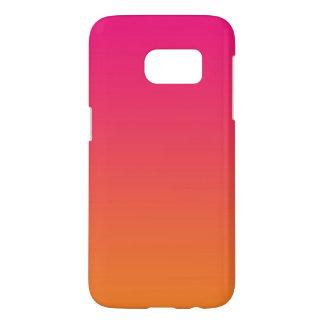 Pink & Orange Ombre Samsung Galaxy S7 Case