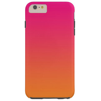 Pink & Orange Ombre Tough iPhone 6 Plus Case