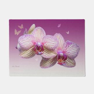 Pink Orchid Doormat