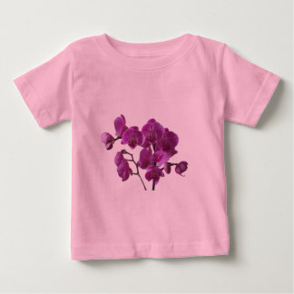 Pink Orchid Flowers Infant T-shirt