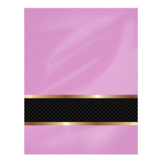 Pink Orchid Multi products selected Letterhead Template