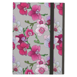 Pink Orchids In Bloom Cover For iPad Air