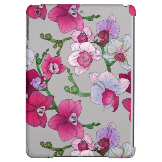Pink Orchids In Bloom iPad Air Covers