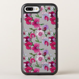 Pink Orchids In Bloom OtterBox Symmetry iPhone 8 Plus/7 Plus Case
