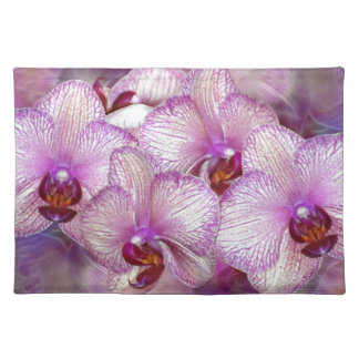 Pink Orchids Placemat