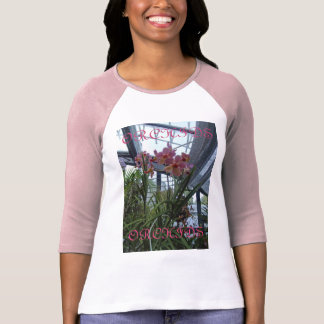 Pink orchids T shirt