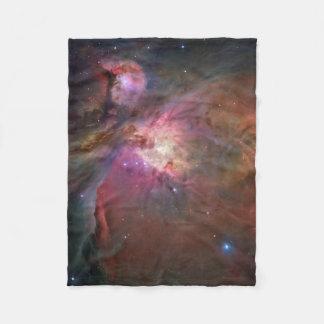 Pink Orion Nebula Fleece Blanket