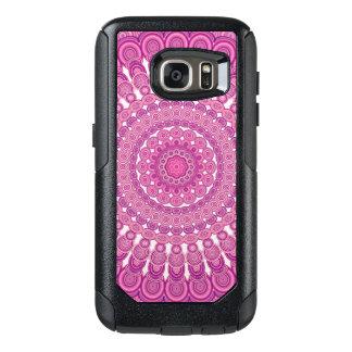Pink oval mandala OtterBox samsung galaxy s7 case