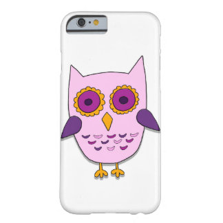 Pink owl barely there iPhone 6 case